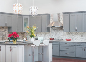 How to Match Cabinets, Countertops, and Flooring