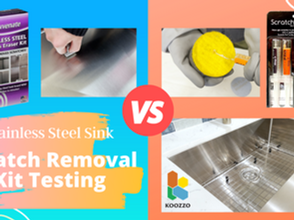 How to Remove Scratches and Maintain Stainless Steel Sinks