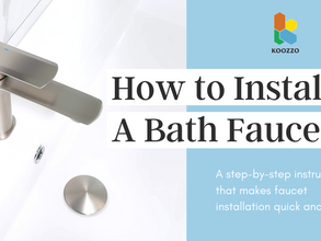 VIDEO: How to Install A Bathroom Faucet
