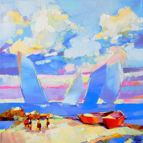 Carmel by the Sea: Blue Sails