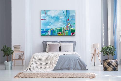 Sea Ranch, Abstract