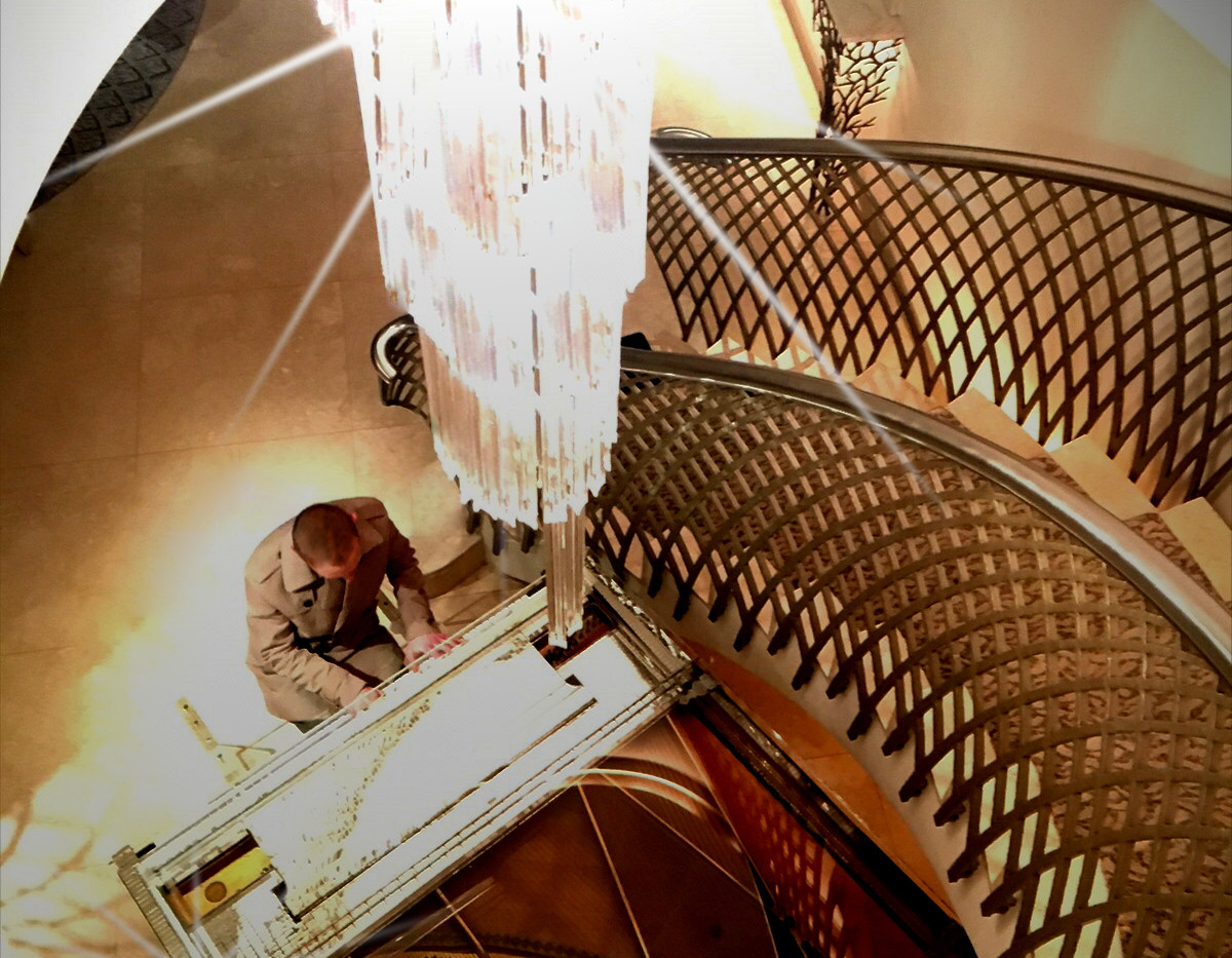 The Dorchester, Park Lane, London  Piano previously owned by Liberace