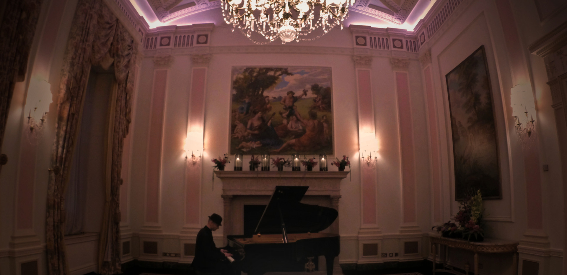 "Launch Event of David's debut album ""Vision"" at The Ritz London"