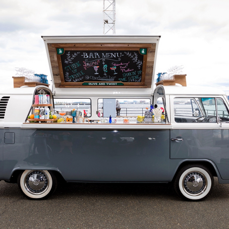 Introducing Luxury Mobile Bar Olive & Twist