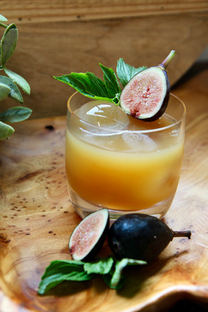 Bourbon Cider Cocktail