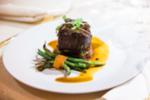 Filet Mignon with Haricots Verts