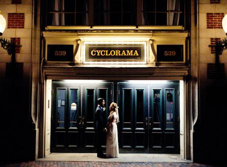 A Boston Cyclorama Wedding