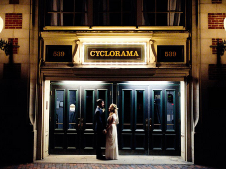 A Boston Cyclorama Wedding