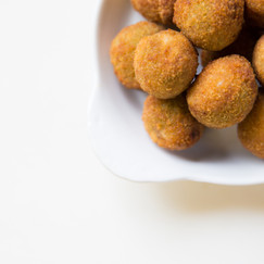 Crispy Short Rib and Blue Cheese-Stuffed Olives