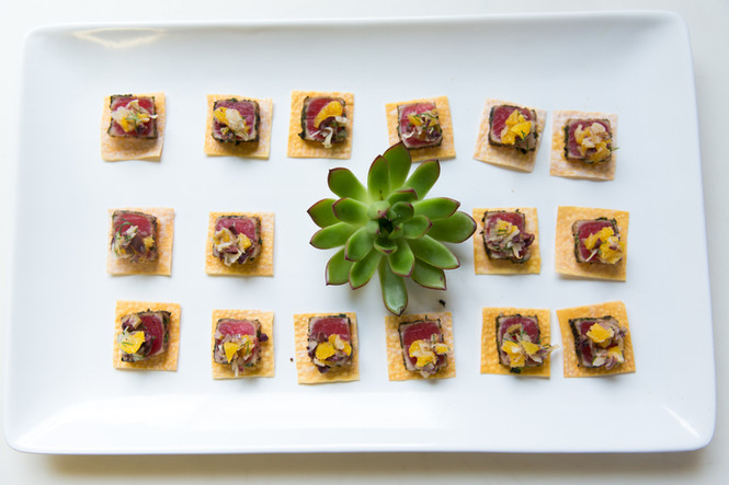 Seared Ahi Tuna with Orange-Fennel Salad