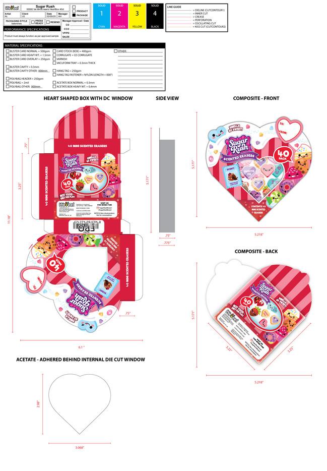Children's Stationery Packaging