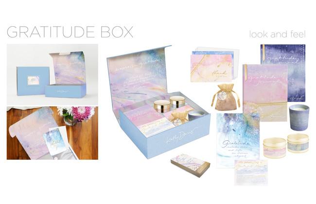 Gratitude Gift Subscription Box Concept for Kathy Davis Studios
