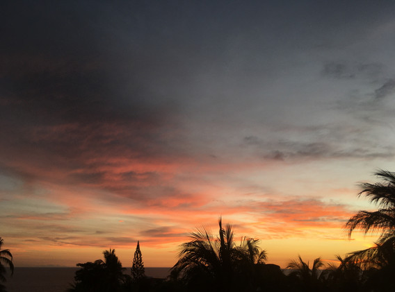 Sunset View from the house