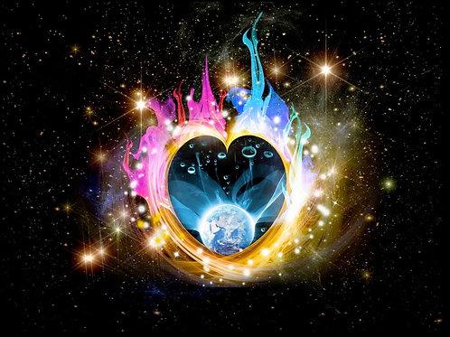 Twin Flames - for Love - lightlanguage transmission & healing - new Union Energi