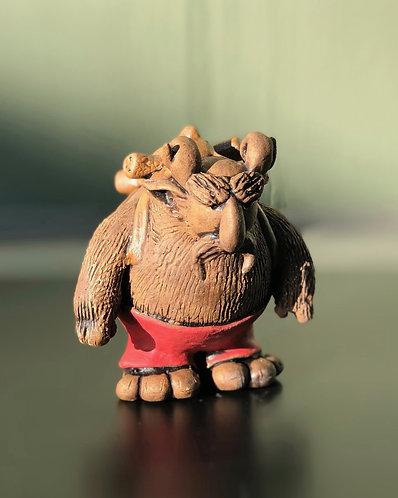 Oscar the ogre (and Tim the teddy)