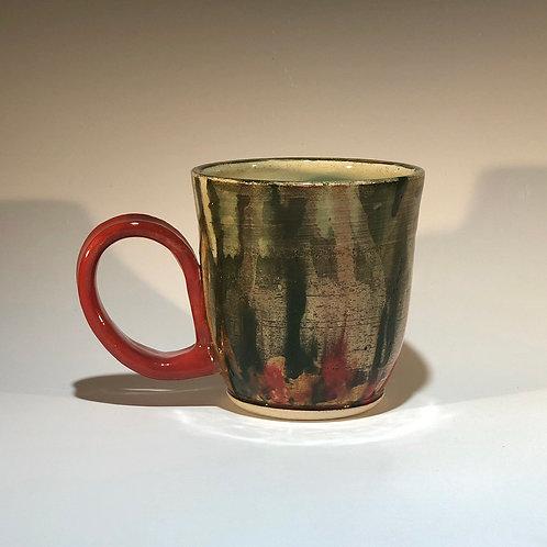 Mug 216.14 Red handle forest