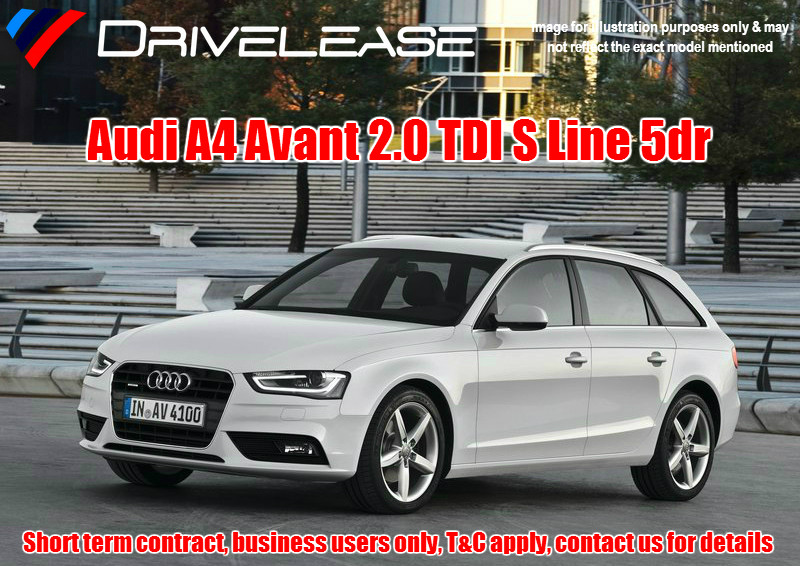 Drivelease Audi A4 Avant S Line