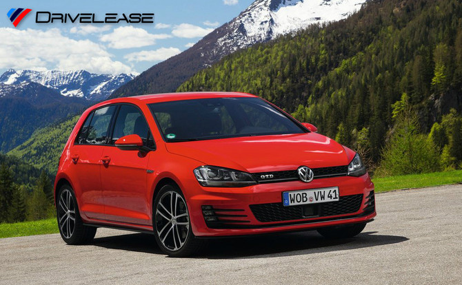 VW Golf GTD 2.0 TDI BMT NAV 184ps 5dr Manual - £244.99 + VAT (LOW INITIAL RENTAL)