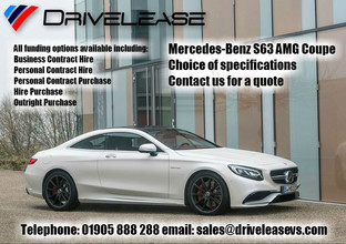 Mercedes-Benz S63 AMG Coupe offers...