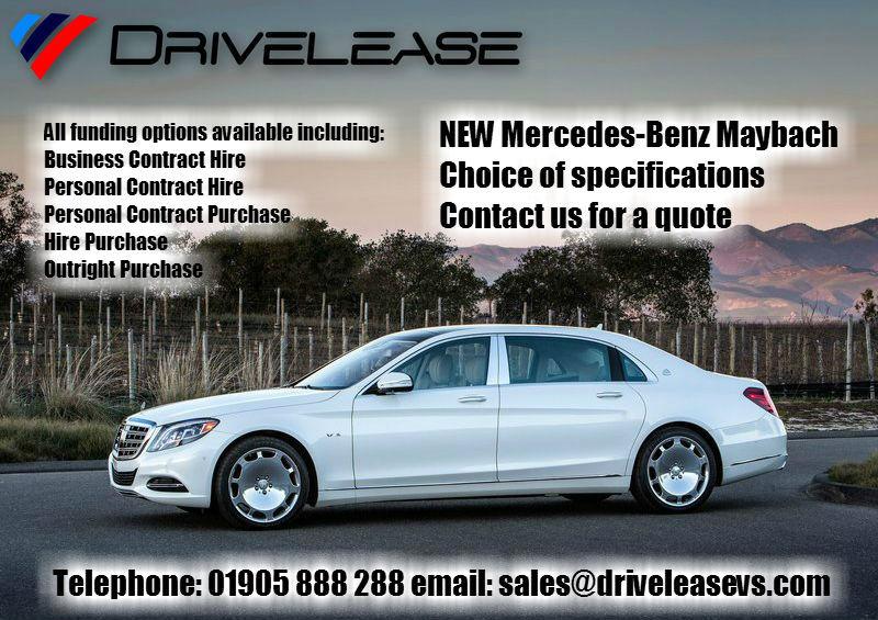 Drivelease Mercedes-Benz Maybach