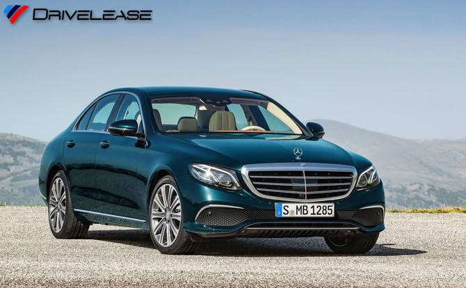 Mercedes-Benz E220d SE Auto Saloon - £334.99 + VAT (LOW INITIAL RENTAL)