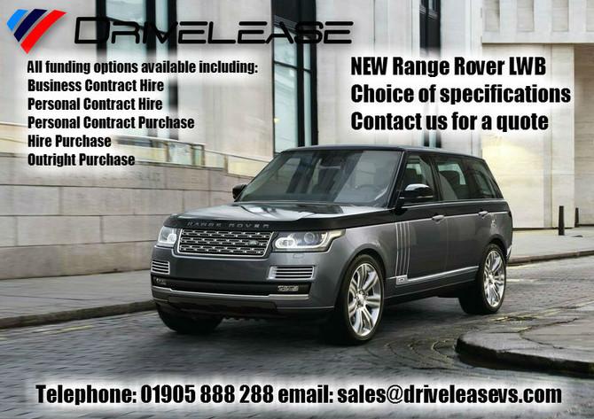 Range Rover LWB offers...