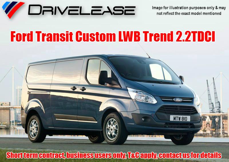 Drivelease Ford Transit Custom LWB