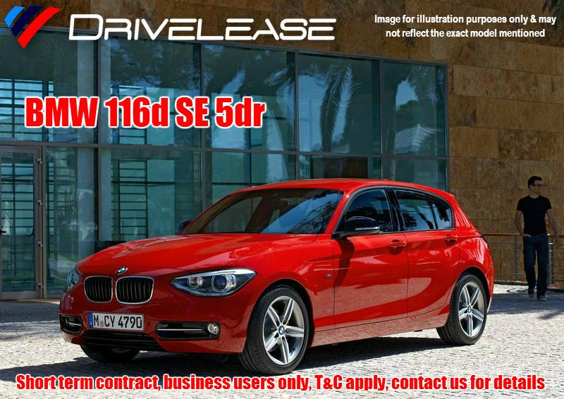Drivelease BMW 116d SE