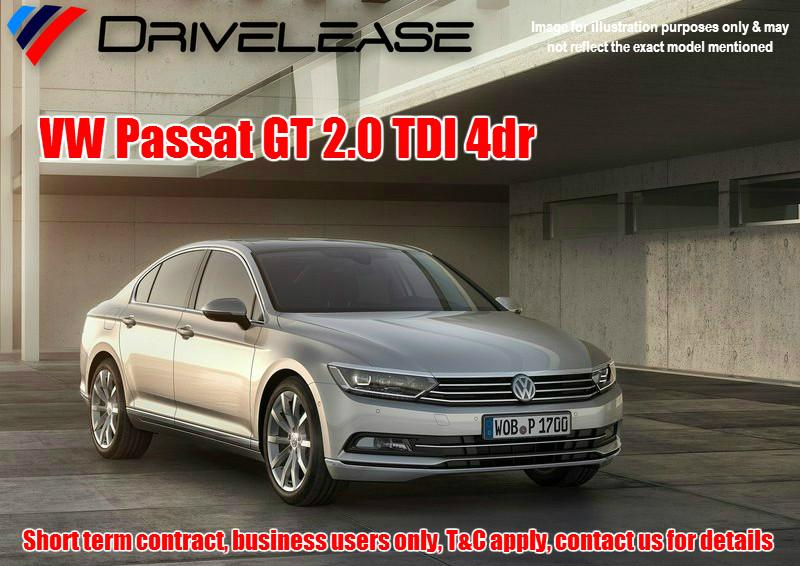 Drivelease VW Passat GT