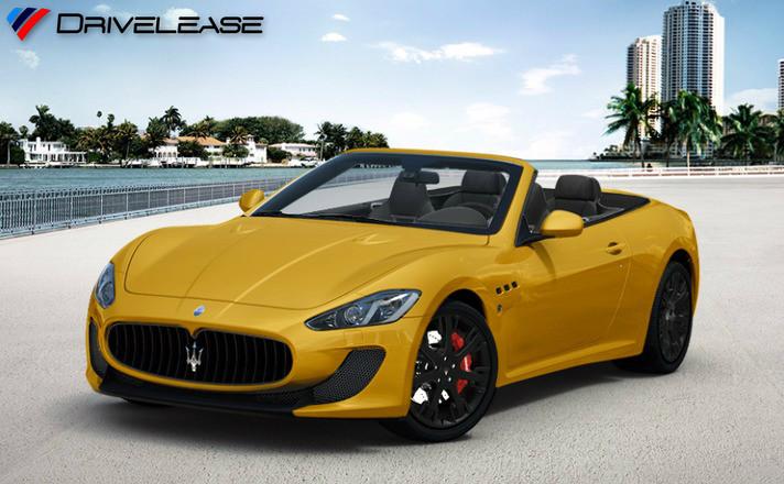 Drivelease Maserati GranCabrio