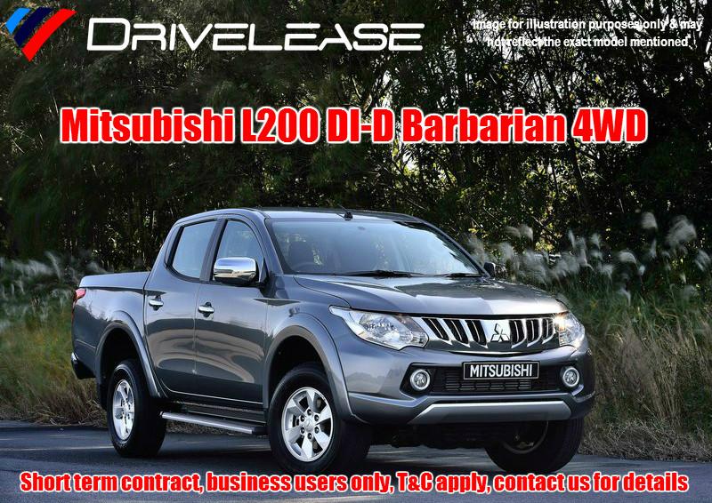 Drivelease Mitsubishi L200 Barbarian
