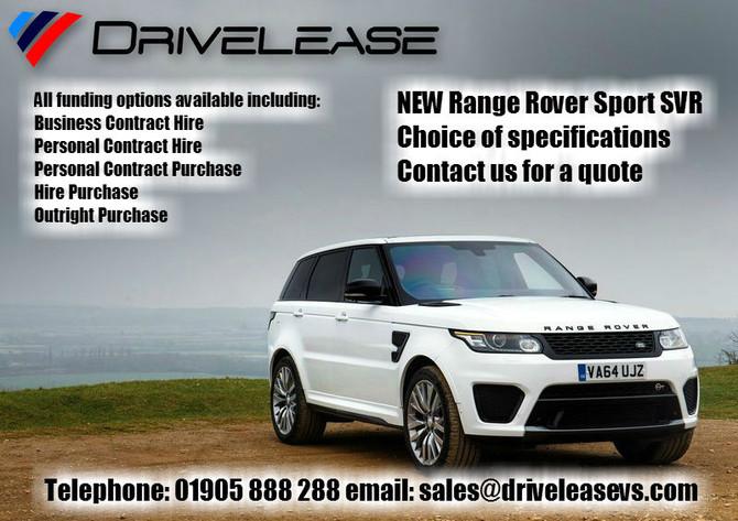 NEW Range Rover Sport SVR offers...
