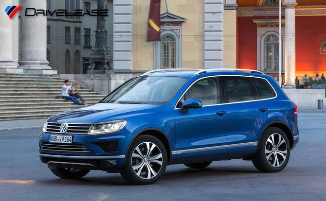 VW Touareg 3.0 V6 SCRBMT8sp Auto Tip R-Line 262ps - £389.99 + VAT (LOW INITIAL RENTAL)