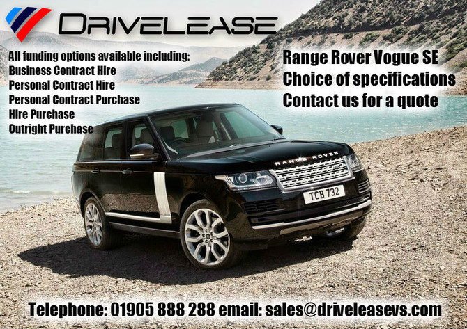 Range Rover offers...