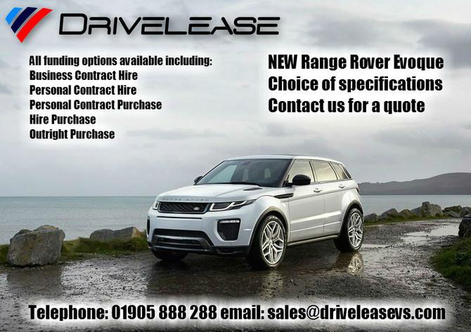 NEW Range Rover Evoque offers