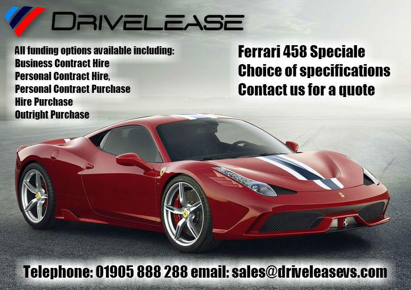 Drivelease Ferrari