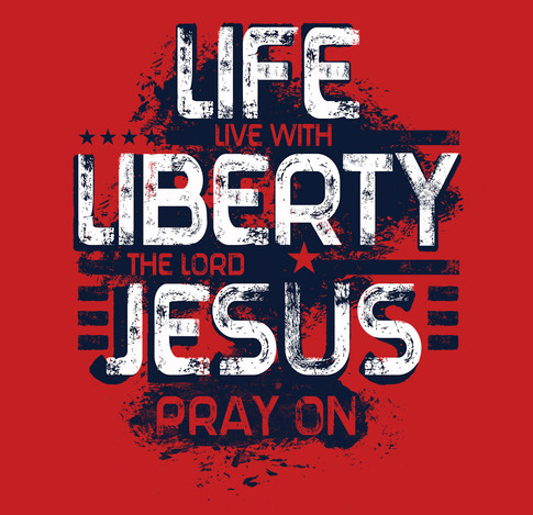 Life Liberty Jesus Page Red Shirt.jpg