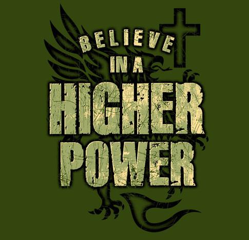 Higher Power Page Military Green Shirt.jpg