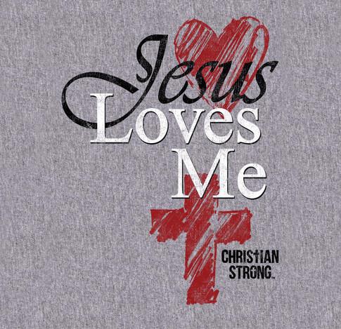 Jesus Loves Me Page Sports Grey Shirt.jpg