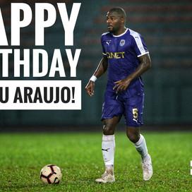 Happy Birthday, Elizeu Araujo!