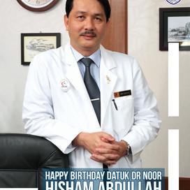 Happy Birthday, Datuk Dr Noor Hisham Abdullah!