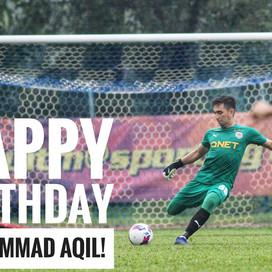 Happy Birthday, Muhammad Aqil!