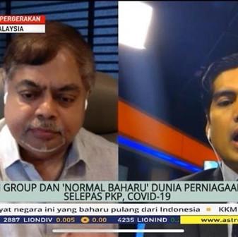 The QI Group Executive Chairman, Dato Sri Vijay Eswaran shared in the interview with Astro Awani