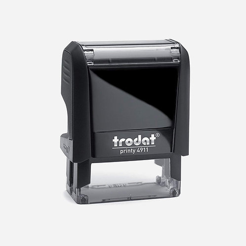 Trodat Self-Inking custom stamp 37x13mm