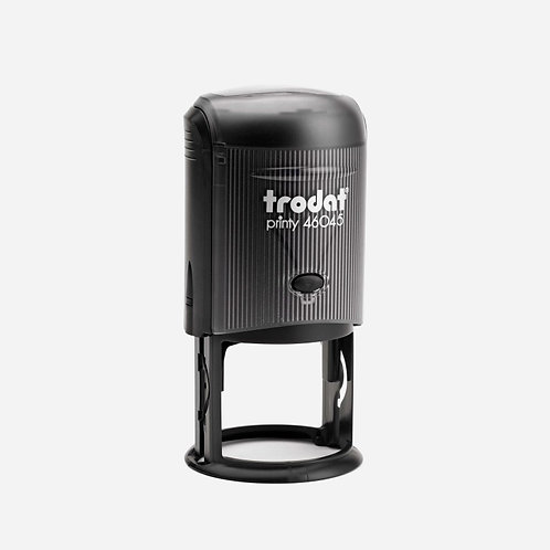 Trodat Self-Inking custom stamp Circle 45mm