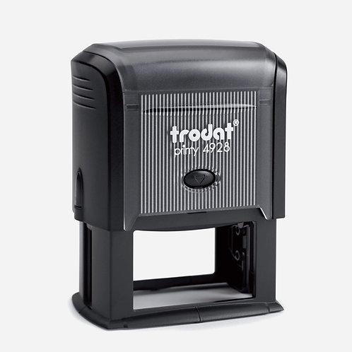 Trodat Self-Inking custom stamp 33x60mm