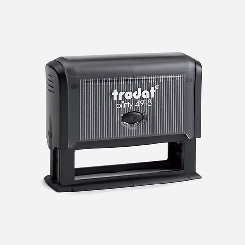 Trodat Self-Inking custom stamp 15x75mm