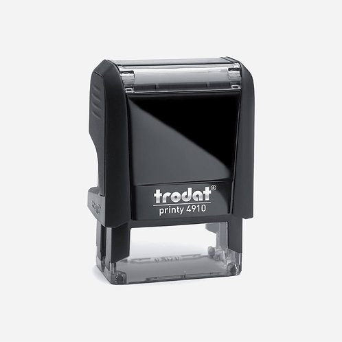 Trodat Self-Inking custom stamp 24x10mm
