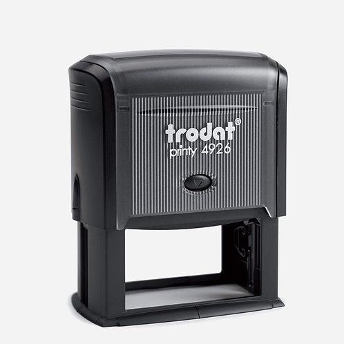 Trodat Self-Inking custom stamp 38x75mm