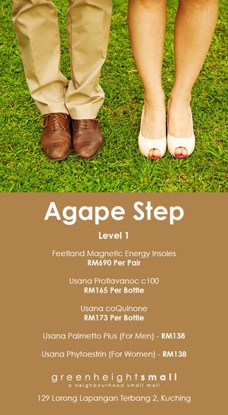 Agape Step
